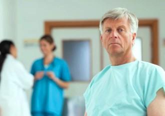 Пациент с раком простаты