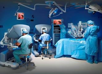 Операция с использованием робота Да Винчи